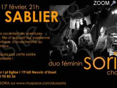 photo de CONCERT EXCEPTIONNEL AU SABLIER !