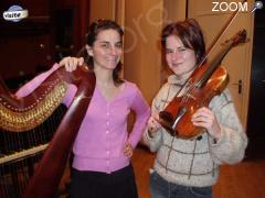 photo de DUO DE VIOLON ET HARPE