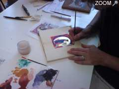 photo de Stages de calligraphie & d'enluminure