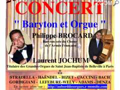 "photo de Concert ""Baryton et orgue"""